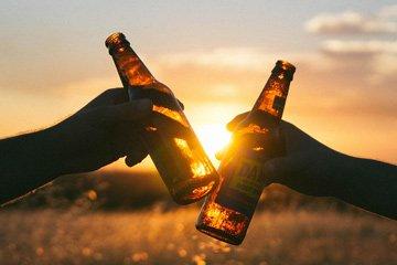 Methoden um Bier oder ander Getränke zu kühlen