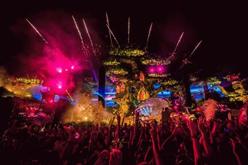 Tomorrowland Festival Atmosphäre