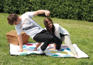 Twister Picknickdecke - Fun Gadgets