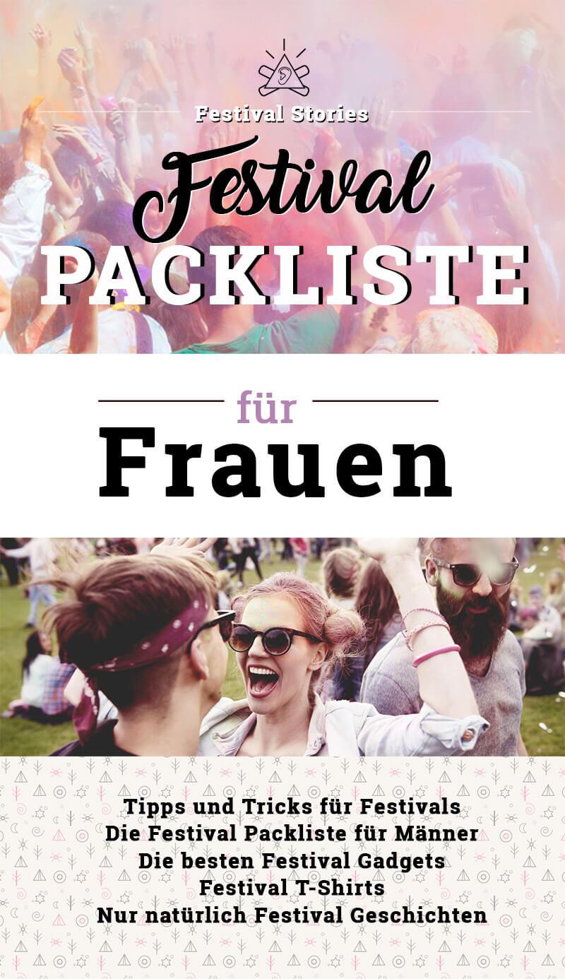 Festival Packliste Für Frauen Tipps Zum Packen Für Festivals Gadgets