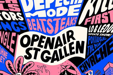 OpenAir St. Gallen 2018