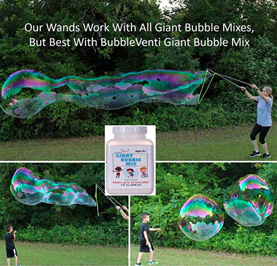 Riesen Seifenblasen für Festivals