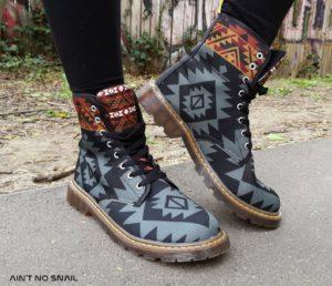 Festival Boots im Doc Marten Stil