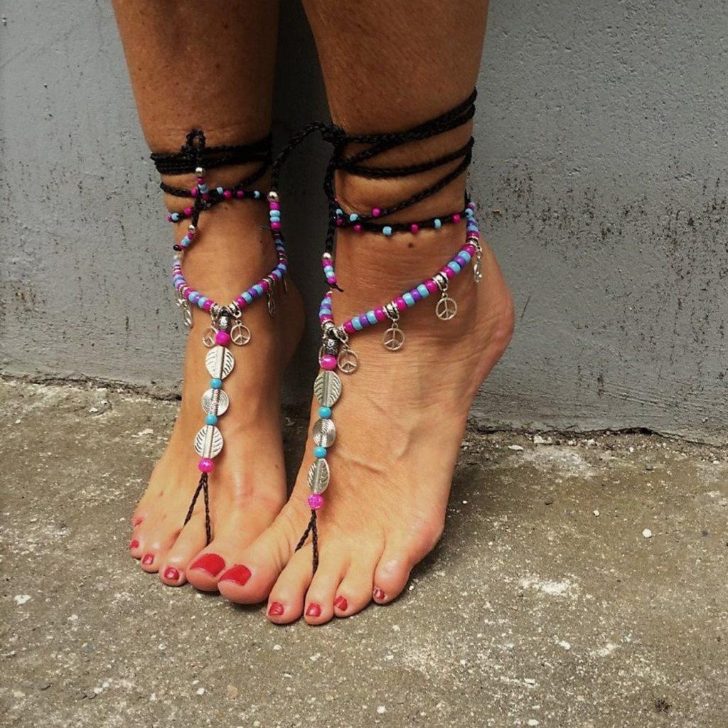 Festival Fußkette